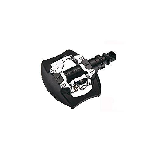 Exustar EPM811 Pedales de MTB, Unisex Adulto, Negro, 95 x 83 mm