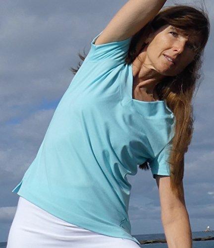 ESPARTO Yoga V-Shirt Farishta Mint