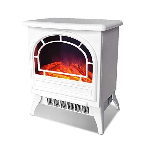 Elektrische open haard-verwarming, infrarood open haard verwarming met realistische 3D-vlam, bescherming tegen oververhitting, geschikt voor binnen