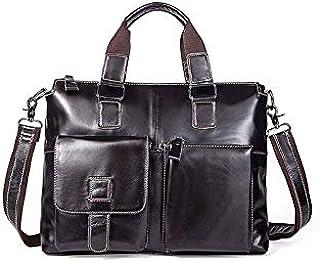حقيبة ظهر Chliuchihjklstb ، حقائب للرجال حقائب كتف جلدية للرجال حقائب لاب توب رسول حقائب يد عادية للرجال (اللون: أ)