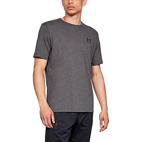 [アンダーアーマー] UAスポーツスタイル レフトチェスト ショートスリーブ メンズ 1358554 Charcoal Medium Heather / / Black SM