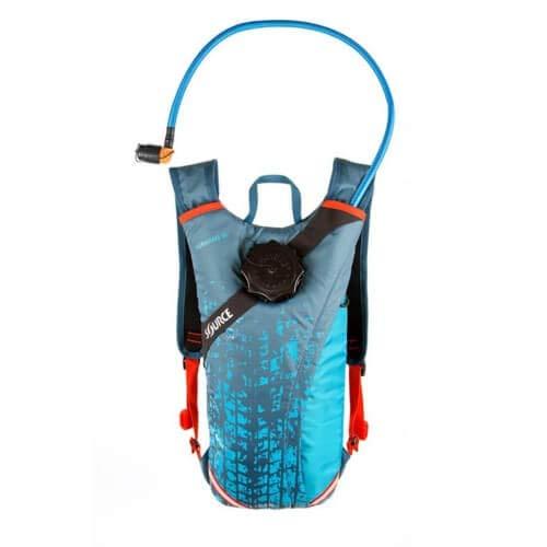 Source Durabag Pro Trinkrucksack 2l Coral Blue 2021 Outdoor Rucksack