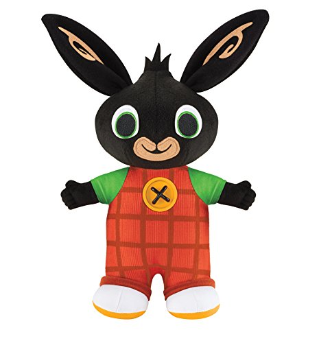 Bing - Coniglietto di Peluche parlante, 25 cm [Lingua Inglese]