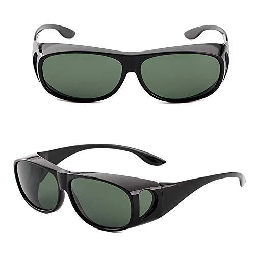 APCHY Gafas De Sol Deportivas Polarizadas para Hombres Y Mujeres Lente TAC Polarizada Protección UV400 Marco Irrompible para Correr Ciclismo Pesca Conducción Golf,F