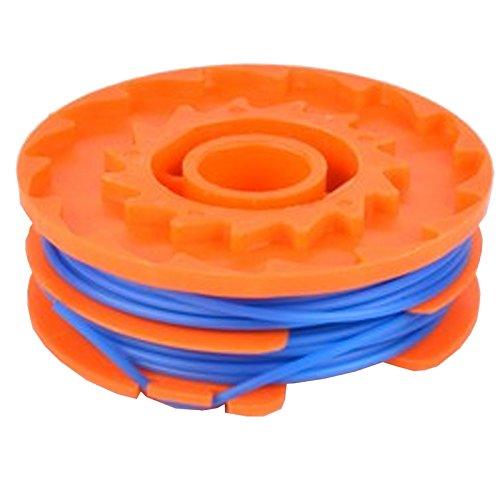 Spares2go Double ligne et bobine pour débroussailleuse Mac Allister 450-T 5 m