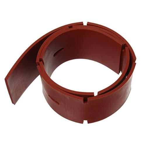 Viper (Nilfisk) VF90103 VF90103-Cuchilla Frontal de Repuesto para AS830R, AS530R, AS510C, AS510B, AS510, AS430C, AS430B, AS430, Rosso