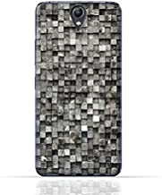Lenovo Vibe S1 Lite TPU Silicone Case with Old Cube Black Wood Texture