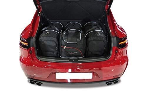 KJUST Dedizierte Reisetaschen 4 STK Set kompatibel mit Porsche MACAN I 2013 -