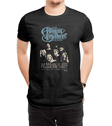 COOLCHINA Men's/Hombre Allman Brothers Band Short-Sleeve Neck T-Shirts/Camiseta XX-Large