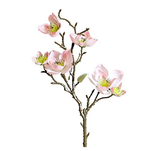 Tianxiangjjeu Flor arituficial 1pc flor artificial protección del medio ambiente paño inodoro real flor artificial para mesa flor falsa portátil para fiesta