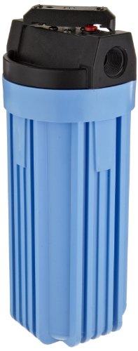 Pentek 150164 3/4#10 VIH Blue Filter Housing with Valve and Pressure Relief by Pentek
