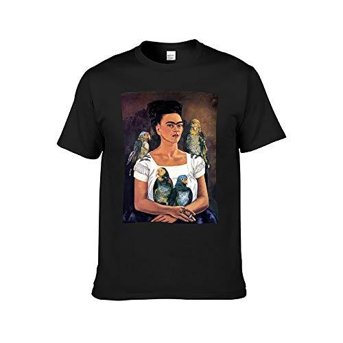 DAFUWENG Camiseta de Frida Arte Vintage Autorretrato Ropa Diseño Original Estilizada Mujer Personalizado