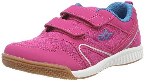Lico BOULDER V Sneaker Unisex Kinder, Pink/ Türkis, 34 EU