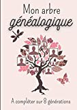 Mon arbre généalogique à compléter sur 8 générations: Le livre de ma famille à compléter pour retracer l'histoire de mes ancêtres / 155 pages - format A4