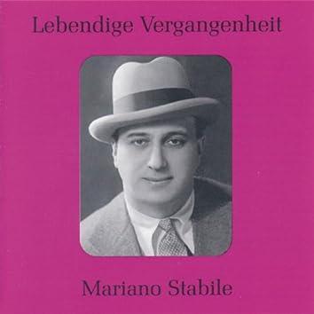 Lebendige Vergangenheit - Mariano Stabile