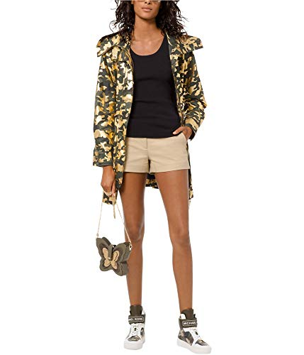 Michael Michael Kors Foil-Print Utility-Style Camouflage Jacket NWT $265 MSRP Small (Small)