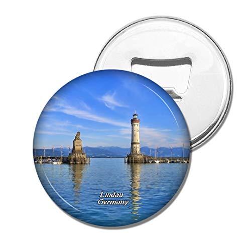 Weekino Deutschland Bodensee Leuchtturm Lindau Bier Flaschenöffner Kühlschrank Magnet Metall Souvenir Reise Gift