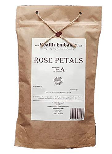 Pétalos de Rosa / Rose Dried Petals - Health Embassy - 100% Natural (100g)