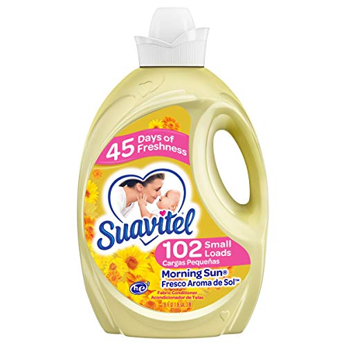 Suavitel Fabric Softener, Morning Sun, 135 Fluid Ounce