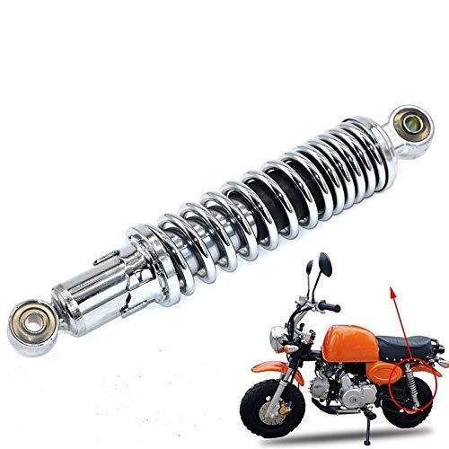 Amortiguador de motocicletas Amortiguador de amortiguador 280 mm Motocicleta Amortiguador trasero Ajuste de la suspensión para monos Bike Motocross Dirt Pit Bike ATV Quad Scooter Motocicleta Rueda tra