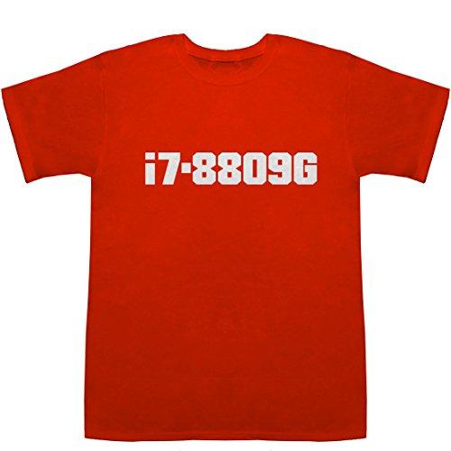 i7-8809G T-shirts レッド M【ゲーミング lanケーブル】【ゲーミング logicool】