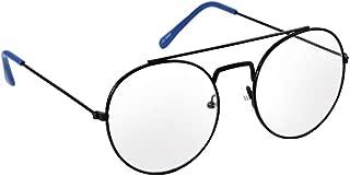 MacV Round Fashion Clear Lens Sunglasses 3449