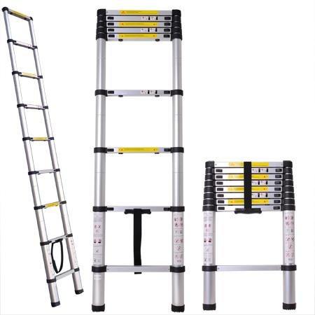 Useful. UH-TL211 8.5ft Aluminum Telescoping Extension Ladder
