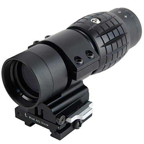 NIKAVI 3X Magnifier flip to Side Scope 3x30mm Rifle...