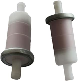 HURI 2 In Line 1/4 Fuel Filter for Honda GL1100 GL1200A VF1100 VF700 CN250 VF750 NSS250 Replace 16900-371-004