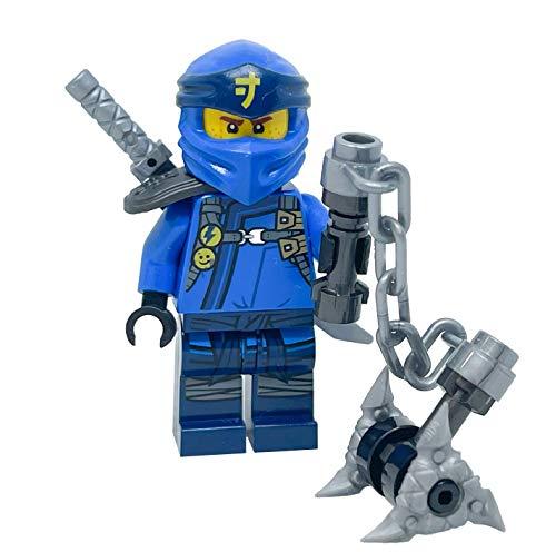 LEGO Secretos Ninjago de la Spinjitzu Prohibido: Jay Minifig con armas