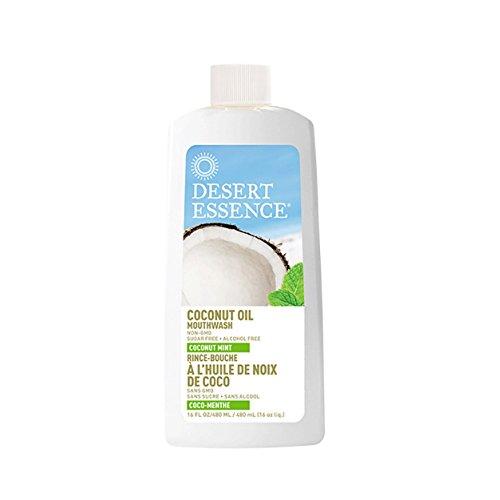 Kokosnussöl-Mundwasser, Kokosnuss-Minze, 480 ml - Desert Essence