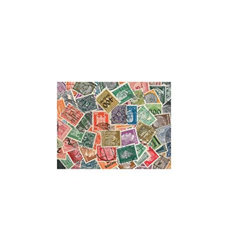 Goldhahn Deutsches Reich-Sammlung Briefmarken für Sammler