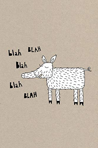 Notes: A Blank Sheet Music Notebook with Wild Boar Humor Cover Art