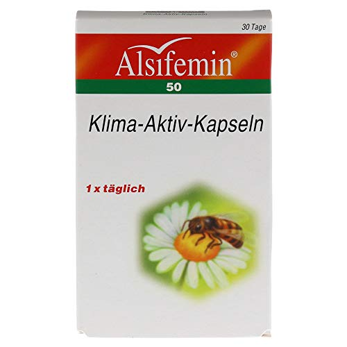 ALSIFEMIN Klima Aktiv m.Soja 1x1 Kapseln, 30 St
