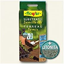 Flower 80049 80049-Substrato semilleros, 20 l, No No Aplica, 30x5x55 cm
