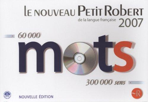 Le Nouveau Petit Robert de la Langue Française 2007