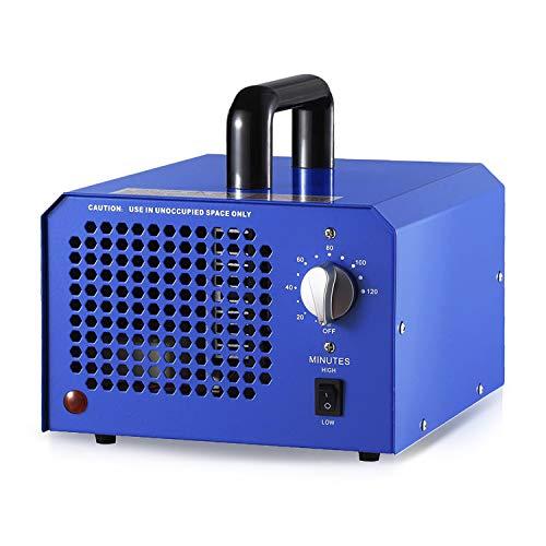 Generatore di Ozono Commerciale da 3,5g a 7g/h Timer Regolabile Purificatore d'aria Deodorizatore Sterilizzatore per Auto,Camera da Letto,Disinfezione Cucina,Riduzione Formaldeide.