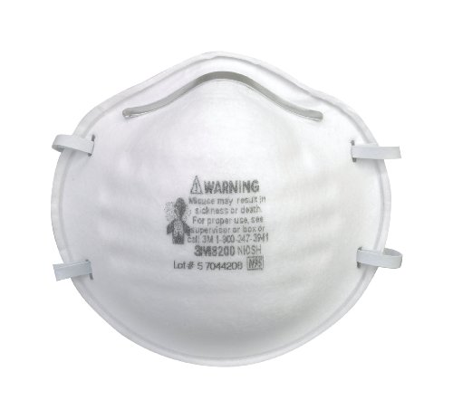 3M 8200 Particulate Respirator N95, 20-Pack