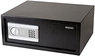 """Stalwart 65-EC-40, Electronic Digital Safe – Large Steel Strongbox with Keypad, Manual Override Key Entry – Protect Money, Laptop, Jewelry, Documents, More, 7.9"""" L x 19.7"""" W x 15.7"""" H , Black"""