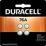 Duracell 76A LR44 Duralock 1.5V Button Cell Battery, 8 Pack