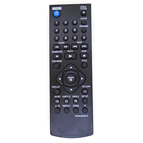 allimity AKB69680438 Sub AKB69680403 Reemplazo de Control Remoto para 26LU5020 2lu5000-za 32LD320 32LF11 32LF2500 32LF2510 32LG2100 32LG2200 32LH2000 32LH2010