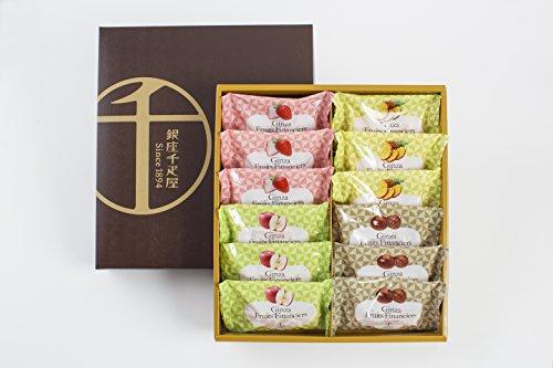 ギフトパティスリー銀座千疋屋銀座フルーツフィナンシェB(12個入)