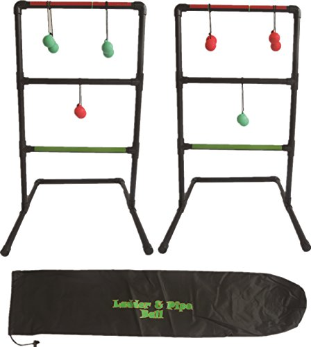 Kid Agains Heavy Duty Ladder Ball, Black, Size 1.41