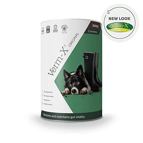 Verm-X Herbal Crunchies Für Hunde-325 Gm Tube, Clear, Unisex