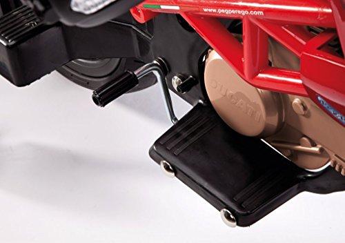 Elektrisches Enduro Ducati Motorrad für Kinder Peg Perego Bild 6*
