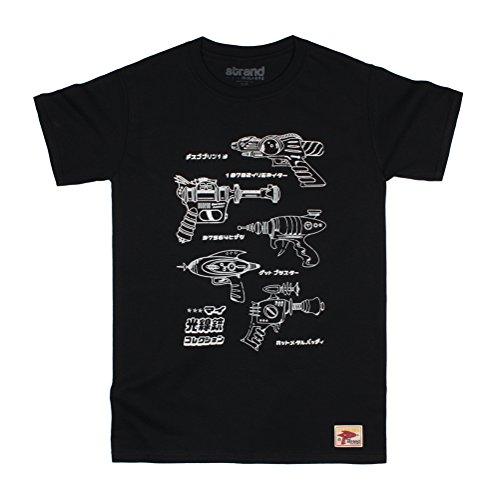 Strand Clothing - T-Shirt - Manches Courtes - Homme Noir Noir - Noir - Large