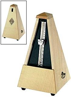 Metrónomo pirámide Wittner 807A madera ARce. Sin campana