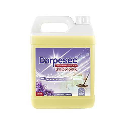 Detersivo Pavimenti | Detersivo lavapavimenti formula anti insetti. Detersivo pavimenti profumato alla lavanda | 5 litri | Detersivo per pavimenti di casa, ufficio, contro formiche, ragni, pulci