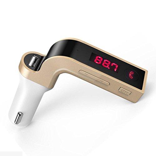 bescita Bluetooth Car Kit mains libres Transmetteur FM Radio mp3 player Chargeur USB & aux