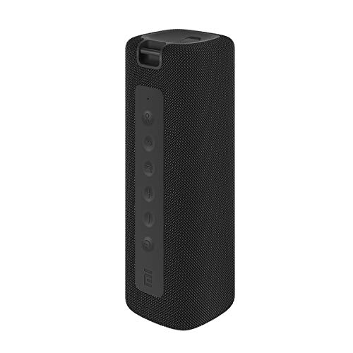 Xiaomi Mi Altavoz Bluetooth portátil Altavoz Bluetooth inalámbrico, 16 W, IPX7 Impermeable para Uso en Exteriores, TWS, 13 Horas de reproducción, Micrófono Incorporado, A Prueba de Polvo (Negro)